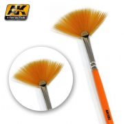 WEATHERING BRUSH FAN SHAPE<br>AK580
